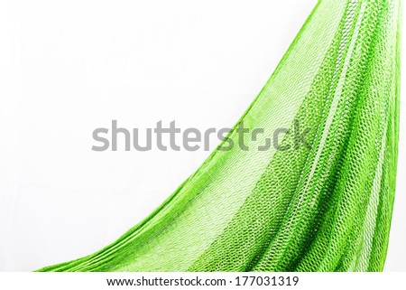 Fishing net with space for your text. - stock photo