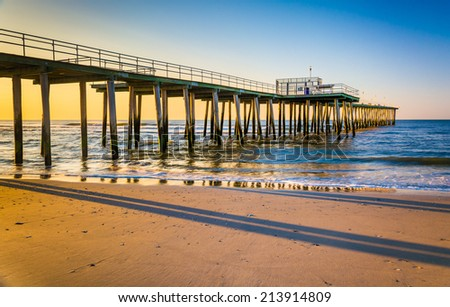 New jersey beach stock images royalty free images for Atlantic city fishing pier