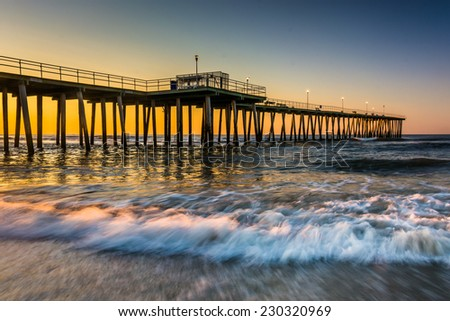 Ocean city stock photos images pictures shutterstock for Atlantic city fishing pier