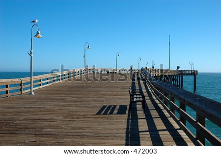 Inexpensive get away stock photos royalty free images for Ventura pier fishing