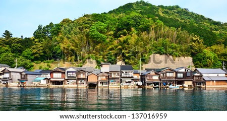 Fishing village in Kyoto. Shoot at 2012 summer time.