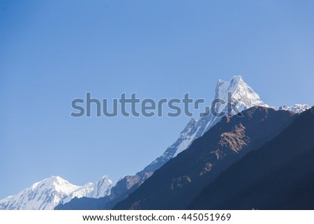 fishtail mountain