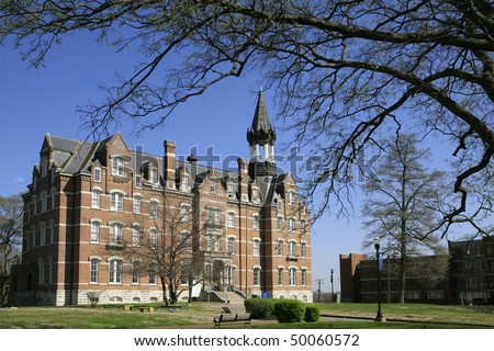 Fisk University in Nashville Tennessee , Jubilee Hall - stock photo