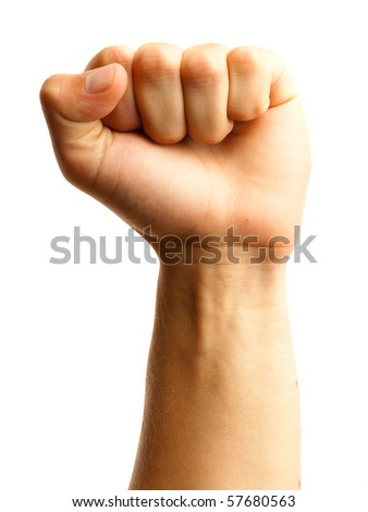 fist - stock photo