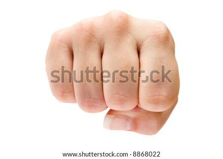 Fist - stock photo