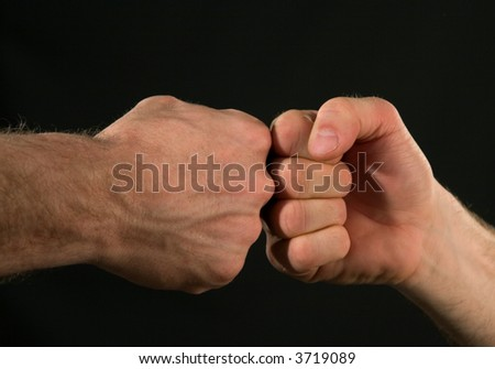 Fists - stock photo