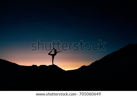 yoga meditation lotus poseman stock photo 89644042
