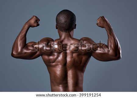 Sexy black male muscle — photo 5