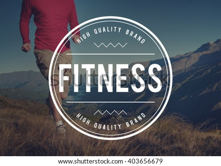 Fitness Exercise Health Activity Athletic Physical Concept - stock photo