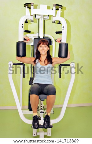 Fitness Fun - stock photo
