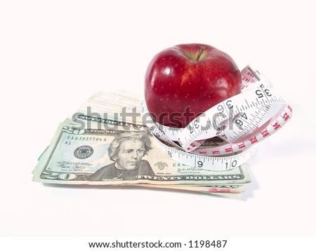 Fitness, Healthcare & Expense - stock photo
