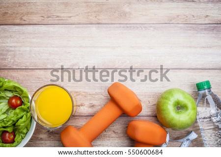 Wellness background  Fitness Healthy Diet Background Stock Photo 550600684 - Shutterstock