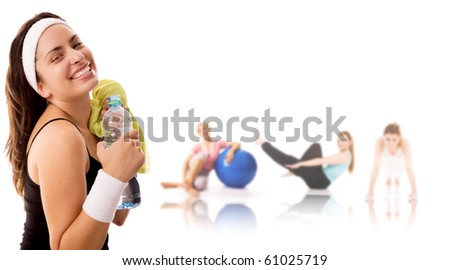 Fitness lifestyle. - stock photo