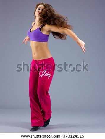 Fitness Performer Exercising