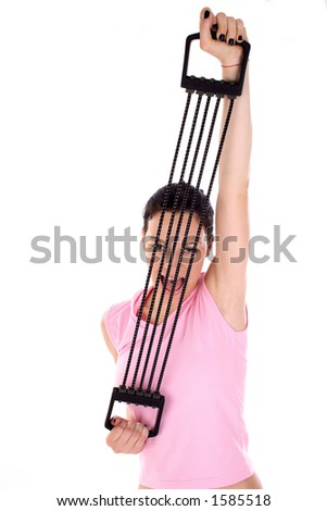 fitness workout - stock photo