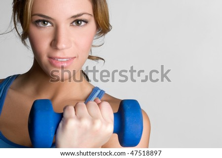 Fitness Workout Girl - stock photo