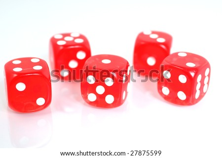 five dice for a good play