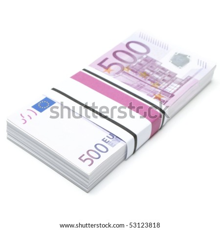 five hundred euros