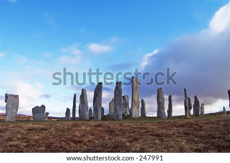 Five thousand  year old Standing Stones at Callinish, Scotland