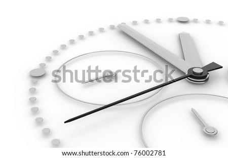 Five to Twelve Chronograph Edition - stock photo
