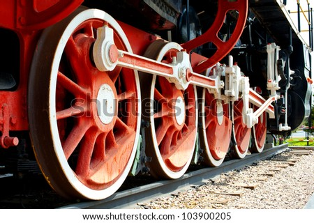 five travell about locomotive costing on rail