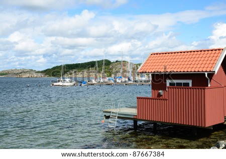 Fjordland (Sweden) - stock photo