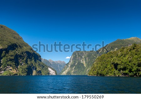 Fjords New Zealand boat trip