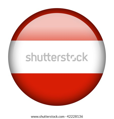 Flag button series of all sovereign countries - Austria