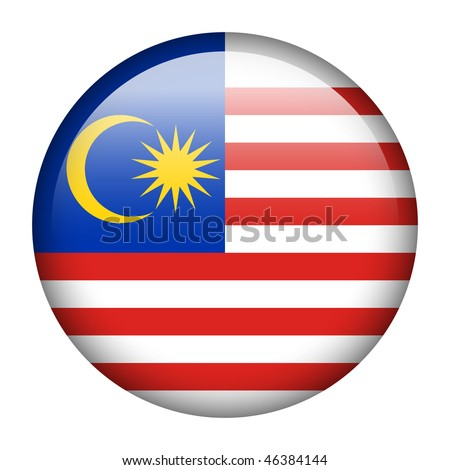Flag button series of all sovereign countries - Malaysia