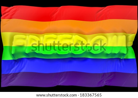 flag freedom gay