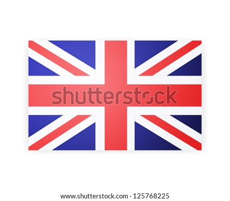 flag london background. - stock photo