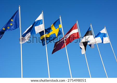 Flag Northern Europe