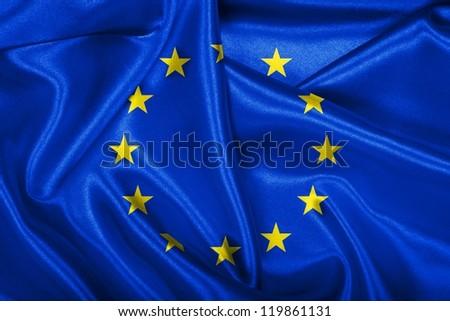 Flag of European Union. - stock photo