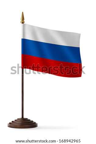 flag of Russia - table flag