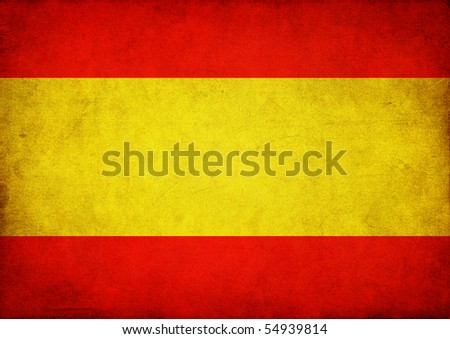 Flag of Spain - stock photo