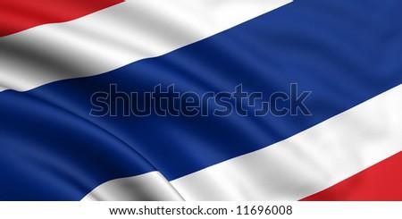 Flag Of Thailand - stock photo