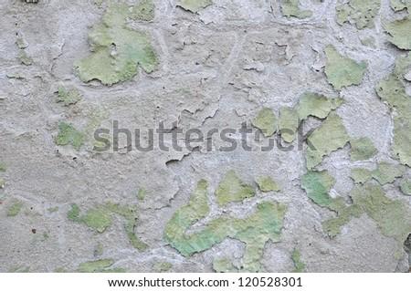 flake off paint - stock photo