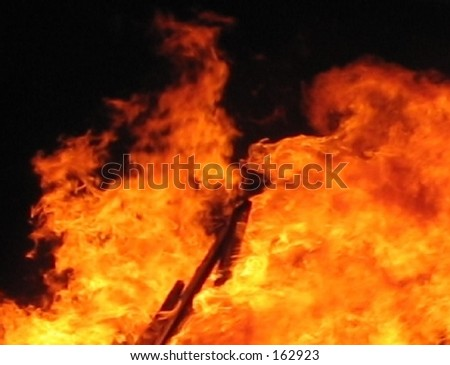 Flame 2 - stock photo
