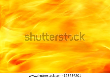 flame texture background - stock photo