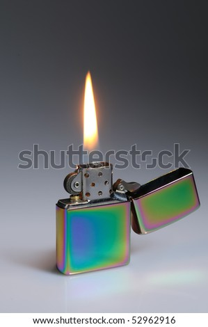 Flaming lighter