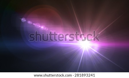 Flash light & Flare theme can be use in fashion,concert,show,sport match