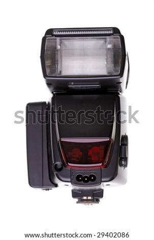 flash light for the modern digital camera - stock photo