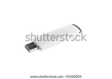 flash media information on a white background - stock photo