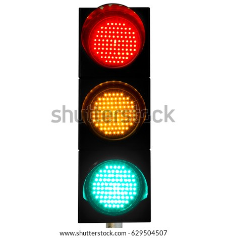 High Quality Flashing Red Yellow Green Light Pictures