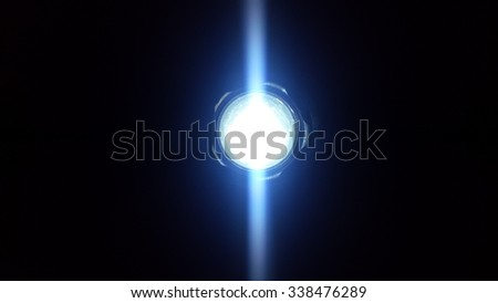 Flashlight - stock photo