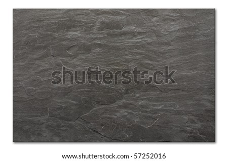 flat background texture of slate floor tile - stock photo