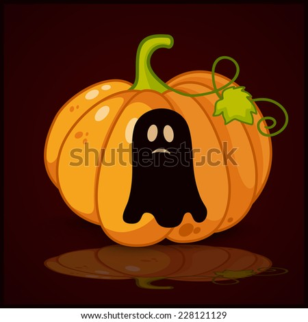 Flat concept, design with shadow, SEO. Set modern Icons mobile applications and web design. Working optimization:  Set of black icons on background of halloween