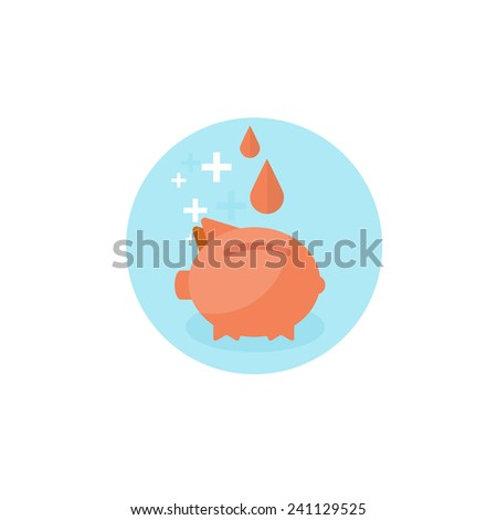 Flat medical background. Blood donation. Donor. Medicine. Healthcare and medical research. First aid help. - stock photo