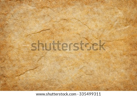 flat piece of yellow tile - stock photo
