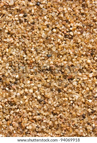 Flat sand surface textured background - stock photo